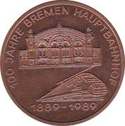 Token - 100 Jahre Bremen Hauptbahnhof – obverse