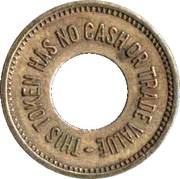 Token - For Amusement Only – obverse