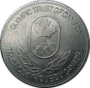 Token - Olympic Trust of Canada (Biathlon) – reverse