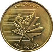 Royal Canadian Mint Token - Millennium – obverse