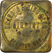 Token - Brandon Flying Club – obverse
