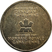Token - Royal Canadian Mint (327) – obverse