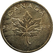 Token - Royal Canadian Mint (327) – reverse