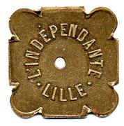 50 Bénéfice L'indépendante Lille (59) – obverse