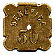 50 Bénéfice L'indépendante Lille (59) – reverse