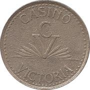Token - Casino Victoria – obverse