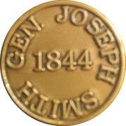Token - Joseph Smith presidential run – obverse