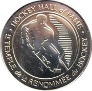 Token - Hockey Hall of Fame 2001 (Mike Gartner) – reverse