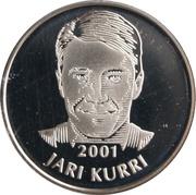 Token - Hockey Hall of Fame 2001 (Jari Kurri) – obverse