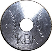 Token - KBK – obverse