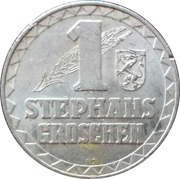 1 Stephansgroschen (Steiermark) – reverse