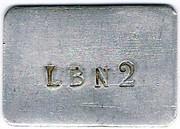LB N 2 - La Bière - Paris (75) – obverse