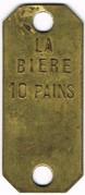10 Pains - La Bière - Paris (75) – reverse