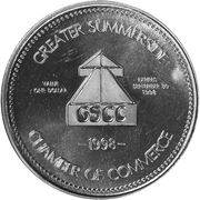 Marrila Dollar - Summerside, Prince Edward Island – reverse