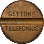 Telephone Token - Gettone Telefonico (Without mintmark - Without date) – obverse