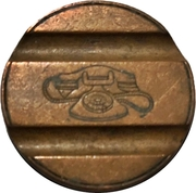 Telephone Token - Gettone Telefonico (Without mintmark - Without date) – reverse