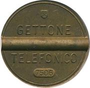 Telephone Token - Gettone Telefonico (ESM) – obverse