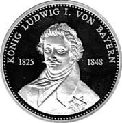 Token - König Ludwig I. von Bayern – obverse
