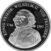 Token - Friedr. Wilhelm II. von Preussen – obverse