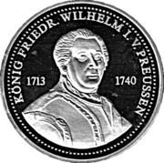 Token - Friedrich Wilhelm I. von Preussen – obverse
