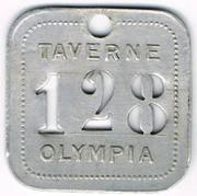 128 -Taverne Olympia - Paris (75) – obverse
