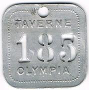 185 - Taverne Olympia - Paris (75) – obverse