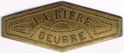 Beurre - La Bière - Paris (75) – obverse