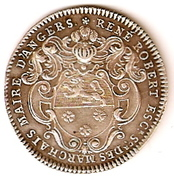 Maire d'Angers 1720 – obverse