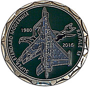 Médaille 17 ème flotille de Chasse Embarquée – reverse