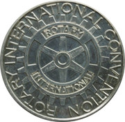 Token - Rotary International Convention – reverse