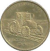 1 Euro (Renault) – obverse