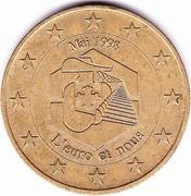1 Euro (Mousquetaires) – obverse