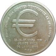 1 Euro (CFDT) – obverse