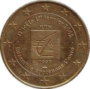 1 Euro (Caisse d'Epargne) – obverse
