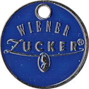 Shopping Cart Token - Wiener Zucker – obverse