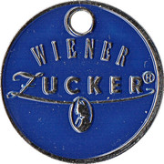 Shopping Cart Token - Wiener Zucker – reverse