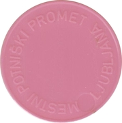 Token - LPP (Urban bus transport; pink) – reverse