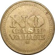 Token - No Cash Value (Baseball) – reverse
