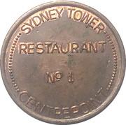 Token - Sydney Tower Centrepoint Restaurant – obverse