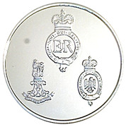 Token - Household Cavalry – reverse