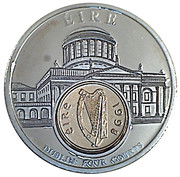 Token - European Currency (Ireland; Dublin four Courts) – obverse