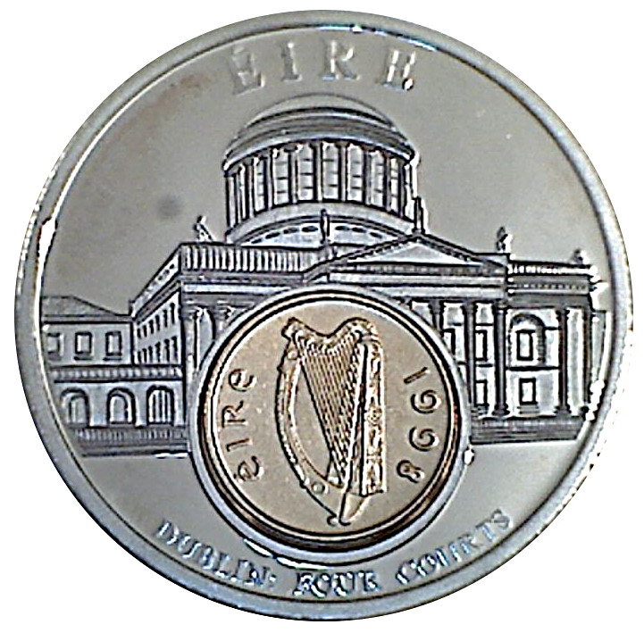 Ireland Dublin Four Courts