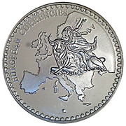 Token - European Currency (Ireland; Dublin four Courts) – reverse