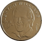 Token - 15 Great All Blacks (Bryan Williams) – obverse