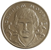 Token - 15 Great All Blacks (Graham Mourie) – obverse