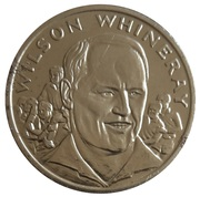 Token - 15 Great All Blacks (Wilson Whineray) – obverse