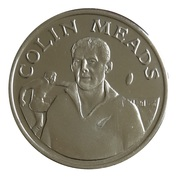 Token - 15 Great All Black Captains (Colin Meads) – obverse