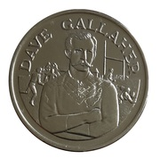 Token - 15 Great All Black Captains (Dave Gallaher) – obverse