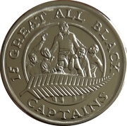 Token - 15 Great All Black Captains (Dave Gallaher) – reverse