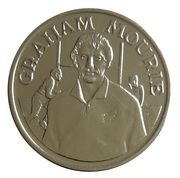 Token - 15 Great All Black Captains (Graham Mourie) – obverse